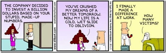 Dilbert - Happiness and Dreams