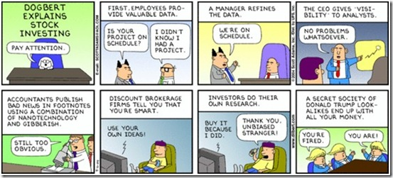 Dilbert - Investment Advice