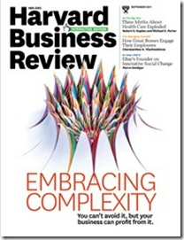 Harvard Business Review - Embracing Complexity