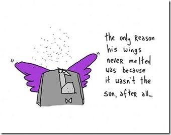 Gapingvoid Icarus