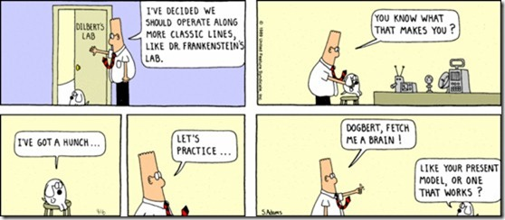 Dilbert - first cartoon