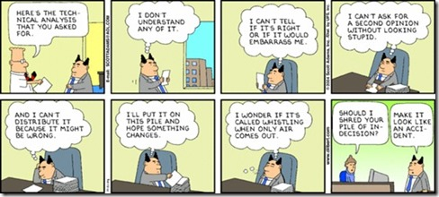 Dilbert - Management Embarrassment