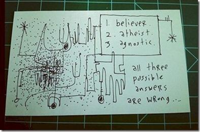 Gapingvoid - Believer Atheist Agnostic